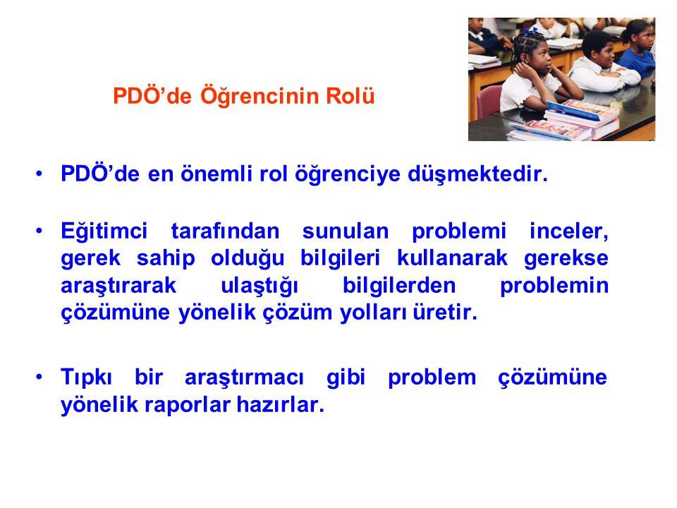 PDÖ'de Öğrencinin Rolü