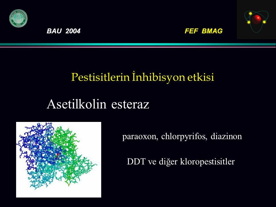 Pestisitlerin İnhibisyon etkisi