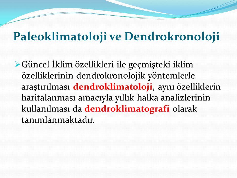 Paleoklimatoloji ve Dendrokronoloji