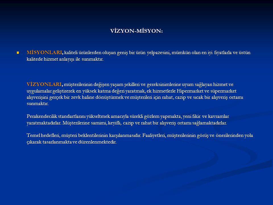 VİZYON-MİSYON: