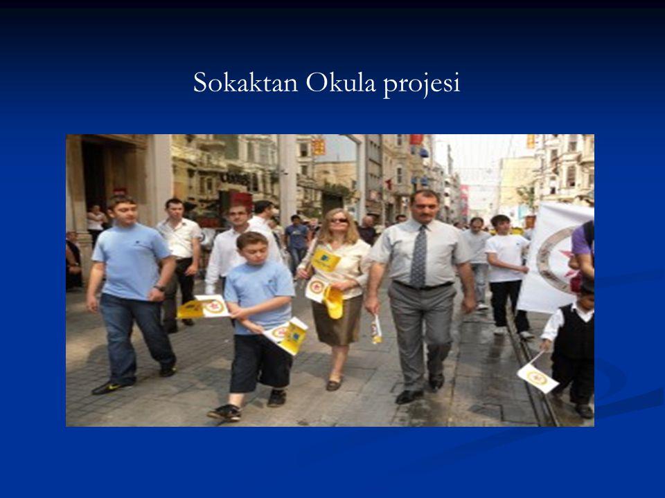 Sokaktan Okula projesi