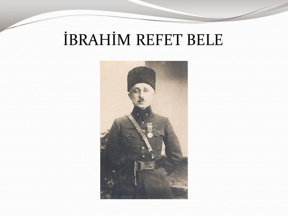 İBRAHİM REFET BELE
