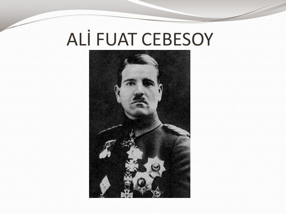 ALİ FUAT CEBESOY