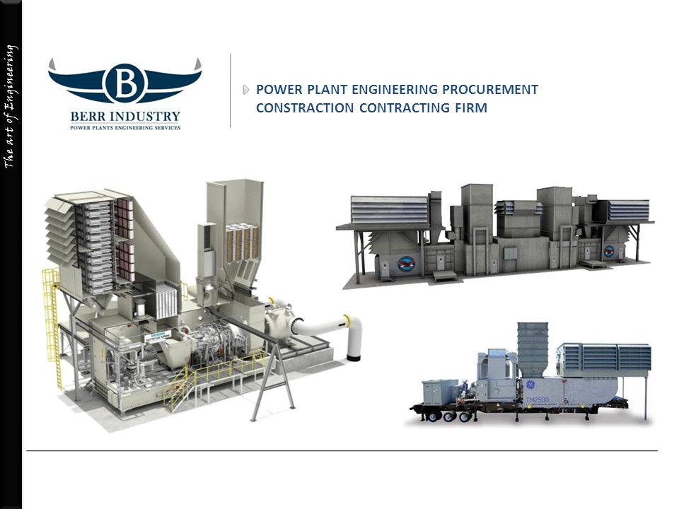 POWER PLANT ENGINEERING PROCUREMENT CONSTRACTION CONTRACTING FIRM