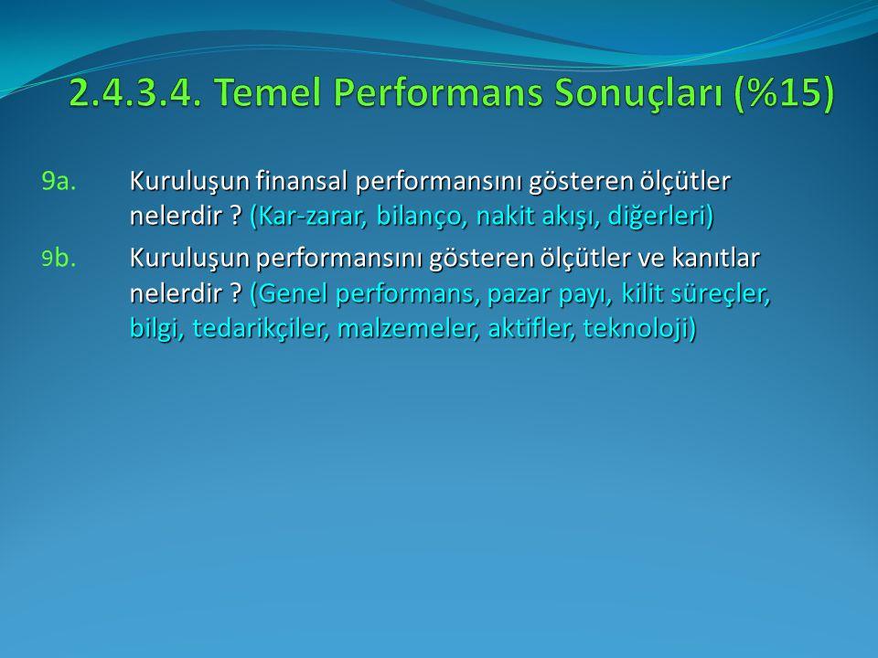 2.4.3.4. Temel Performans Sonuçları (%15)