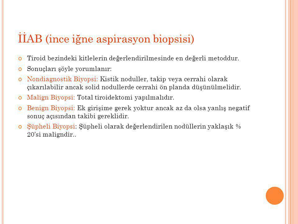 İİAB (ince iğne aspirasyon biopsisi)