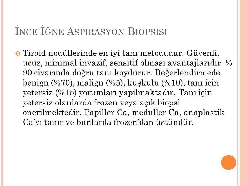İnce İğne Aspirasyon Biopsisi