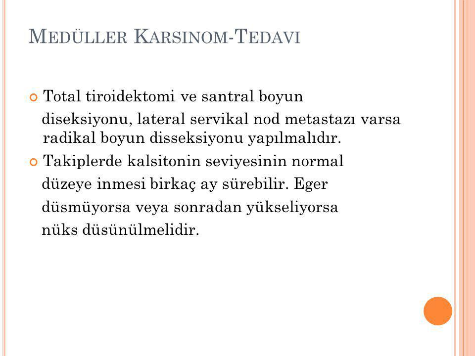 Medüller Karsinom-Tedavi