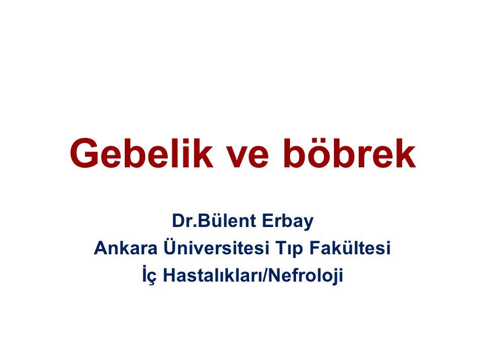 Ankara Üniversitesi Tıp Fakültesi İç Hastalıkları/Nefroloji
