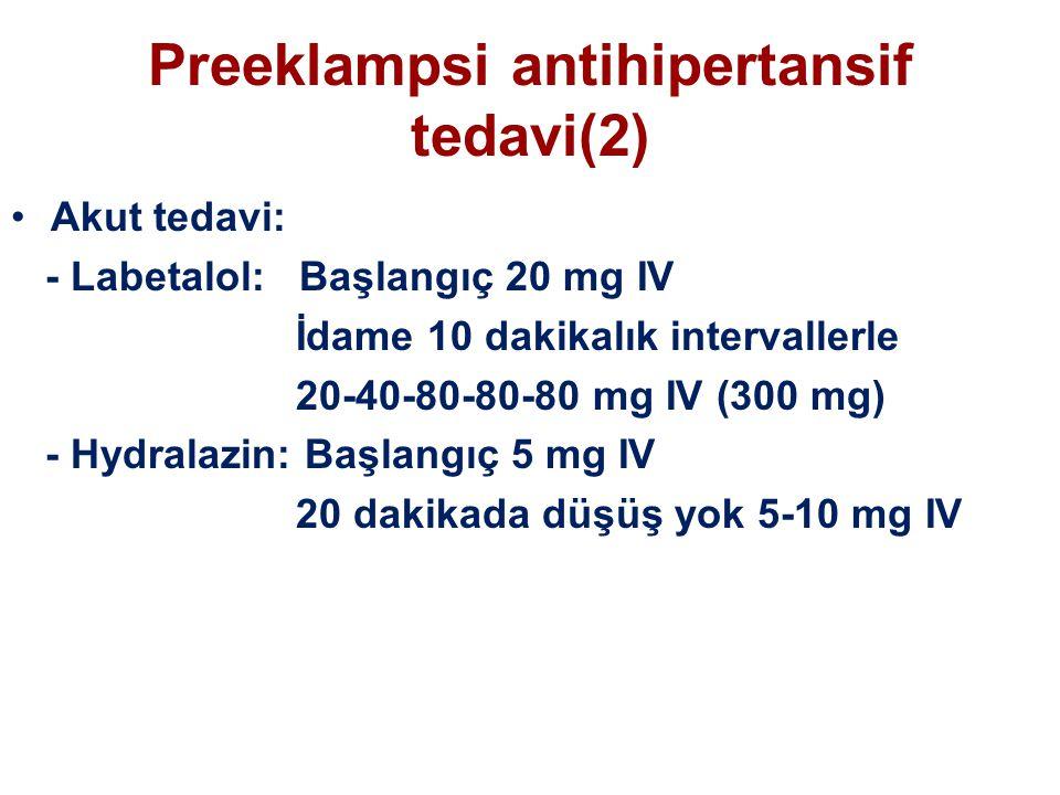 Preeklampsi antihipertansif tedavi(2)