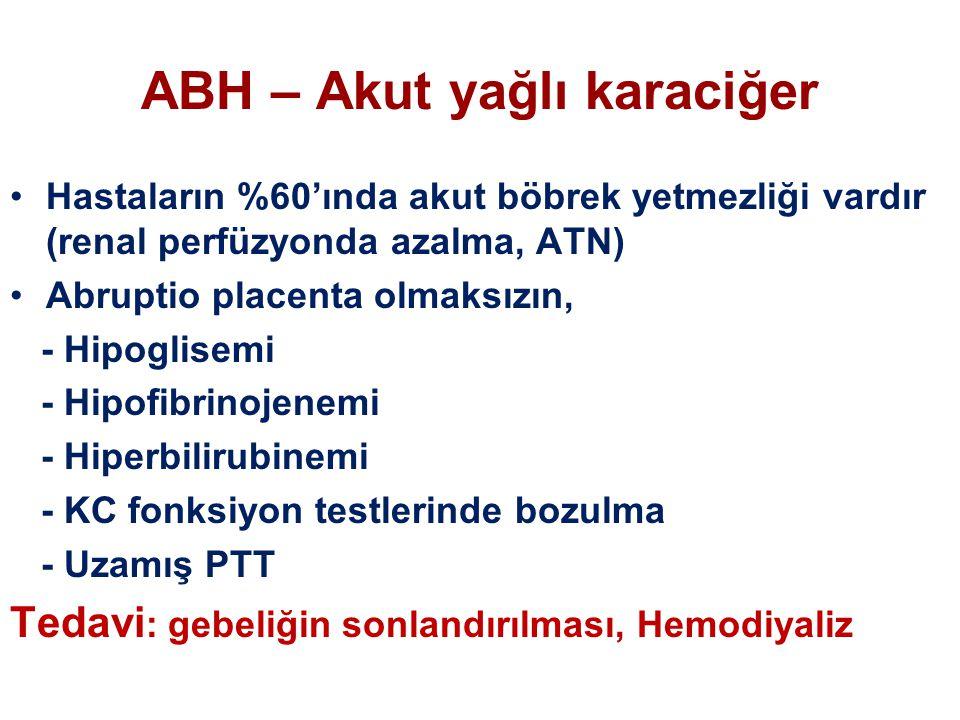 ABH – Akut yağlı karaciğer