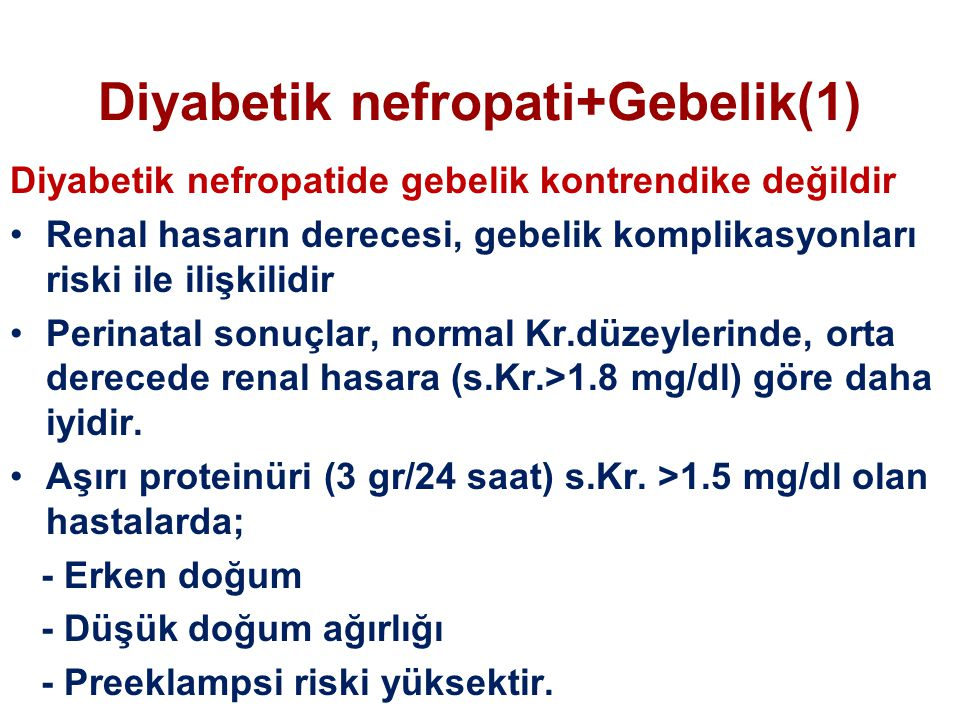 Diyabetik nefropati+Gebelik(1)