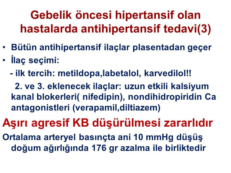 Gebelik öncesi hipertansif olan hastalarda antihipertansif tedavi(3)