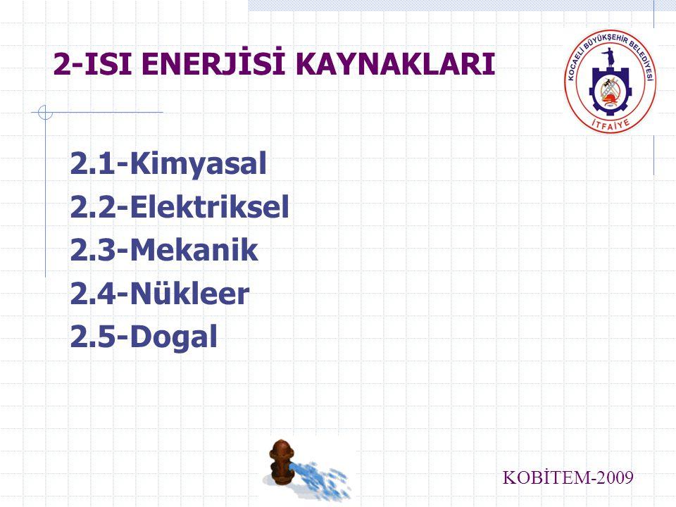 2-ISI ENERJİSİ KAYNAKLARI