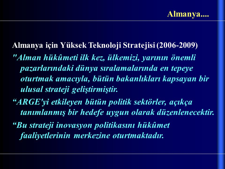 Almanya.... Almanya için Yüksek Teknoloji Stratejisi (2006-2009)