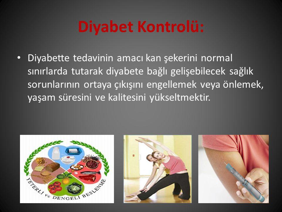 Diyabet Kontrolü: