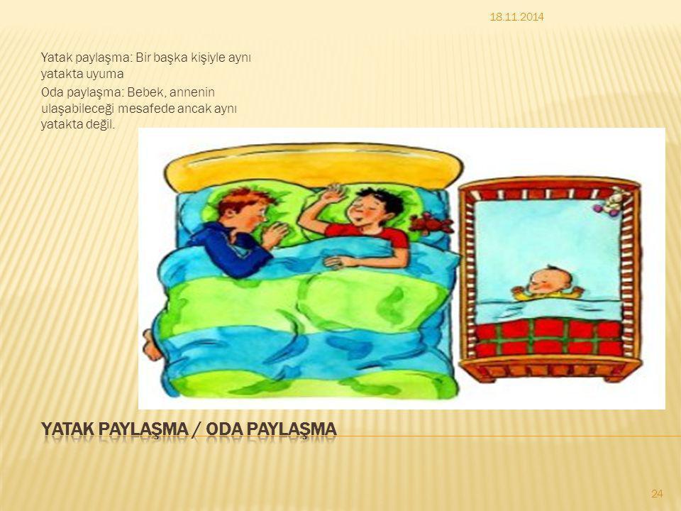 Yatak paylaşma / oda paylaşma
