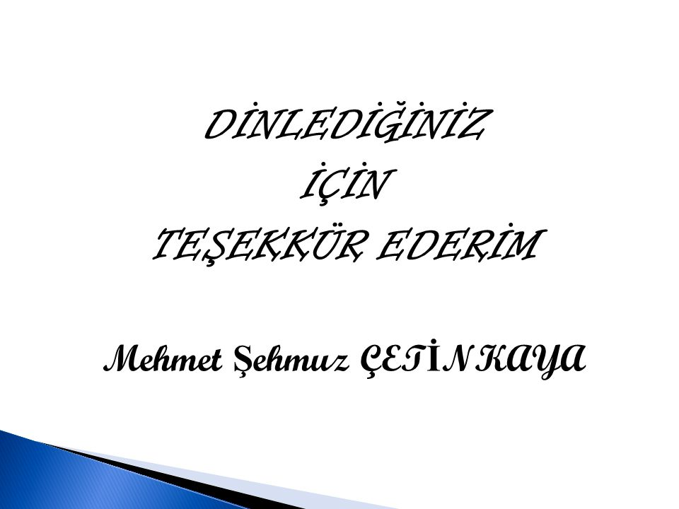 Mehmet Şehmuz ÇETİNKAYA