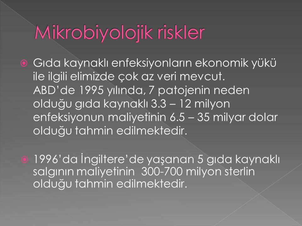 Mikrobiyolojik riskler