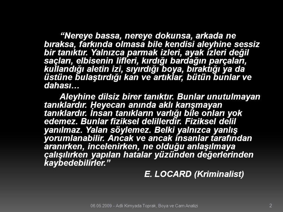 E. LOCARD (Kriminalist)