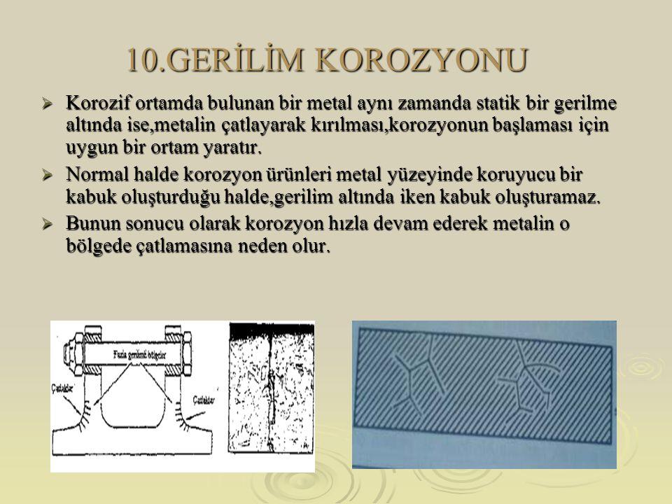 10.GERİLİM KOROZYONU