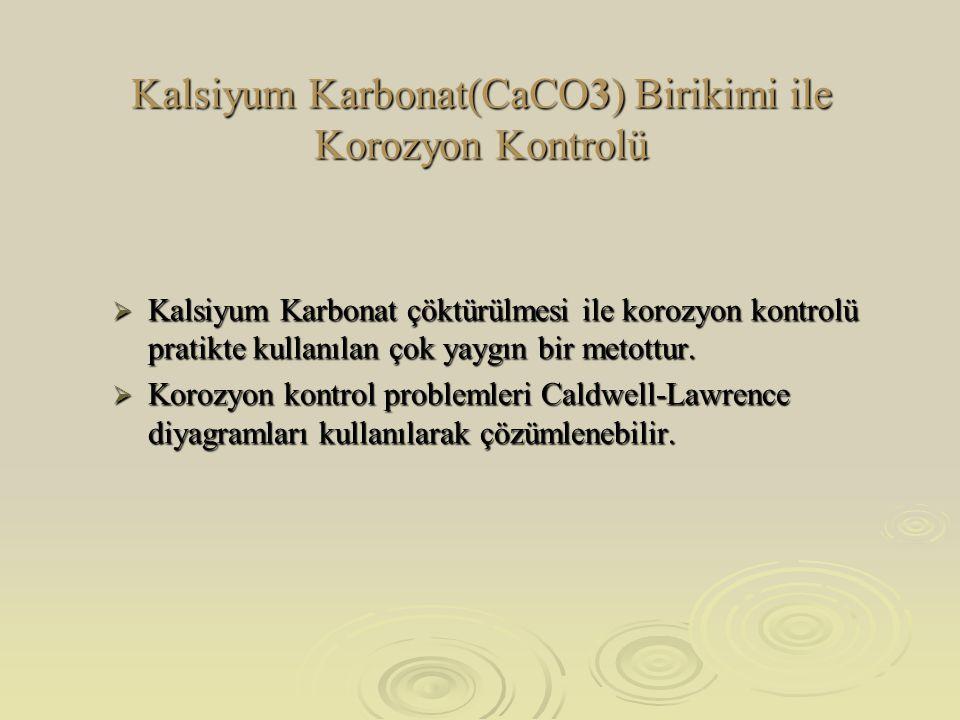 Kalsiyum Karbonat(CaCO3) Birikimi ile Korozyon Kontrolü