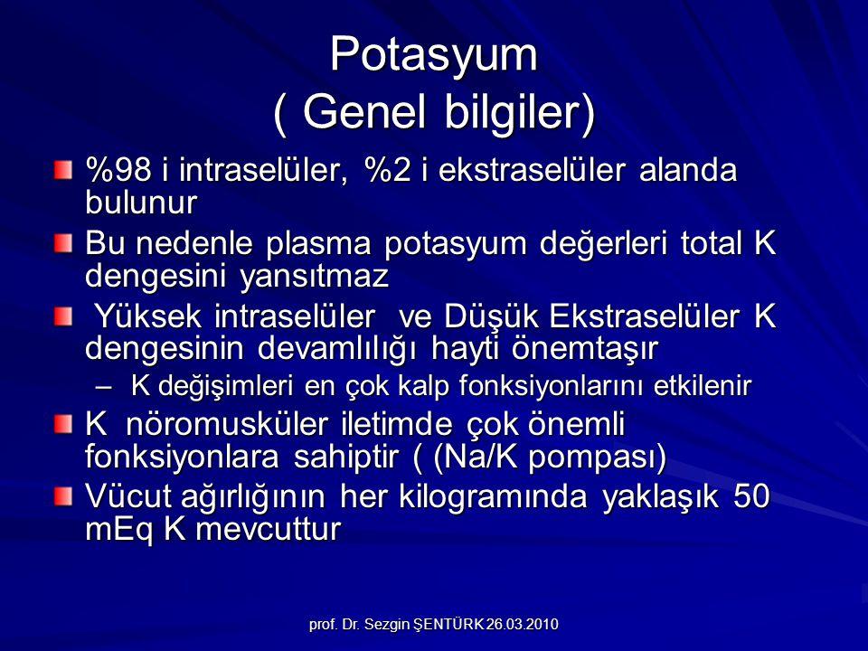 Potasyum ( Genel bilgiler)
