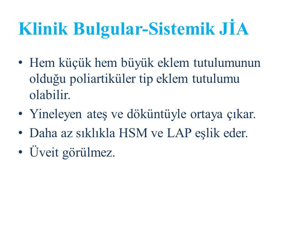 Klinik Bulgular-Sistemik JİA