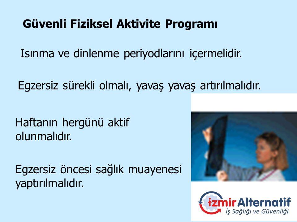 Güvenli Fiziksel Aktivite Programı