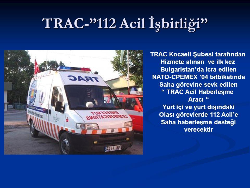 TRAC- 112 Acil İşbirliği