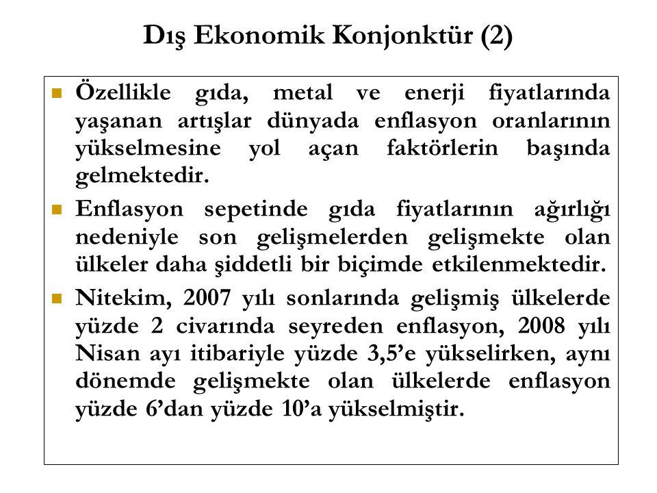 Dış Ekonomik Konjonktür (2)