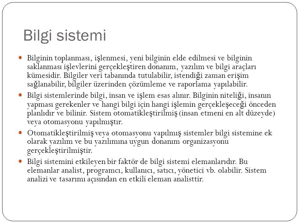 Bilgi sistemi