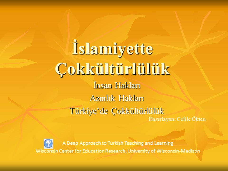 İslamiyette Çokkültürlülük