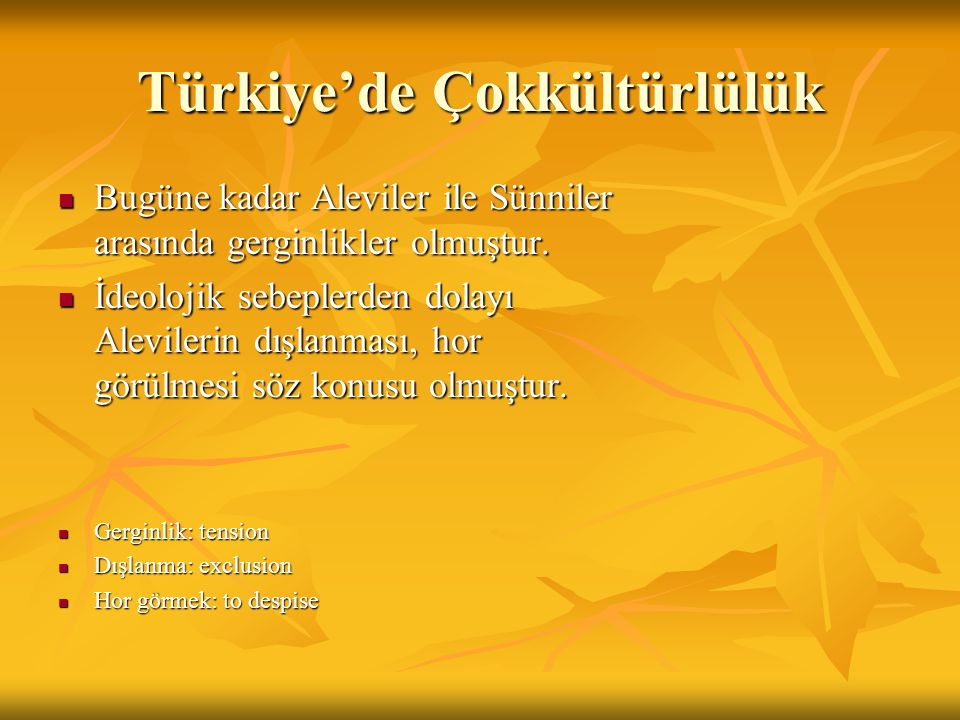 Türkiye'de Çokkültürlülük
