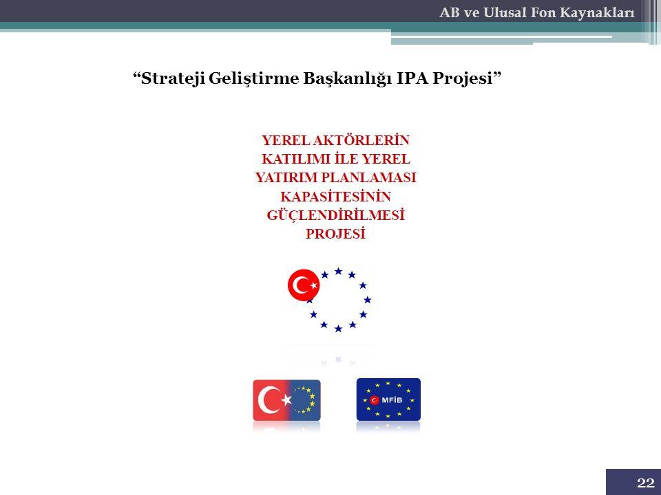 Strateji Geliştirme Başkanlığı IPA Projesi