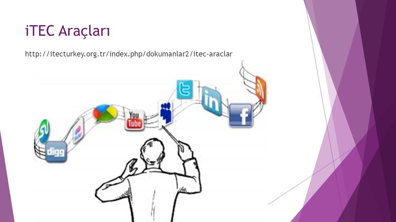 iTEC Araçları http://itecturkey.org.tr/index.php/dokumanlar2/itec-araclar
