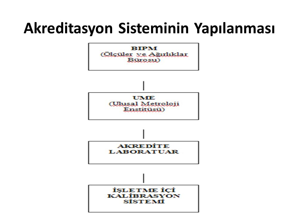 Akreditasyon Sisteminin Yapılanması