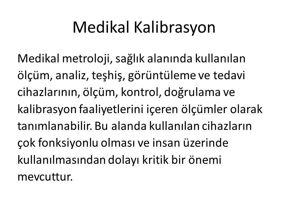 Medikal Kalibrasyon