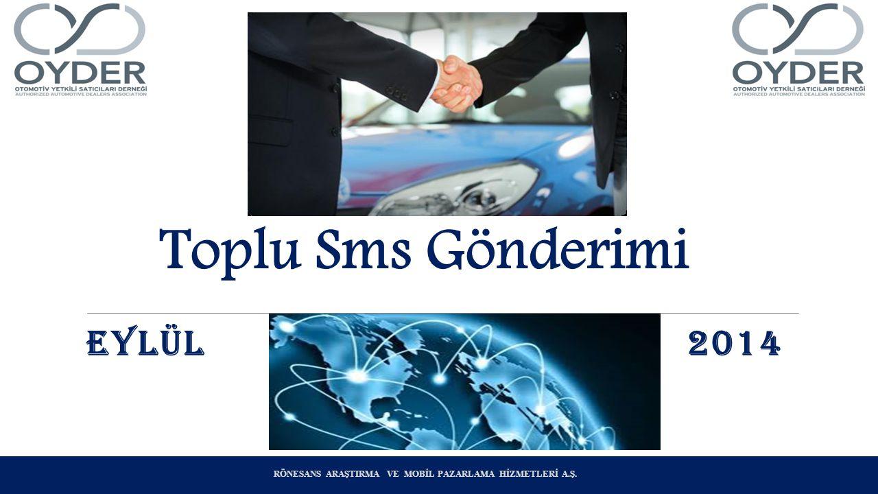 Toplu Sms Gönderimi EYLÜL 2014