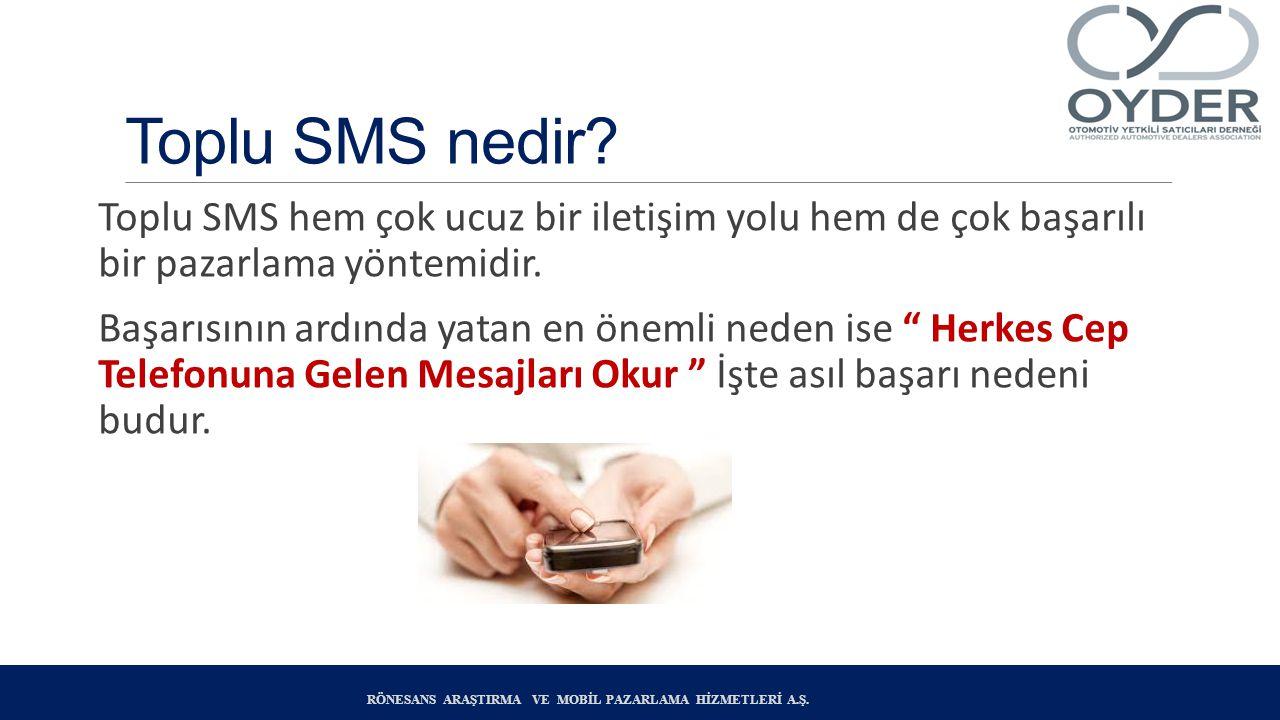 Toplu SMS nedir Toplu SMS hem çok ucuz bir iletişim yolu hem de çok başarılı bir pazarlama yöntemidir.