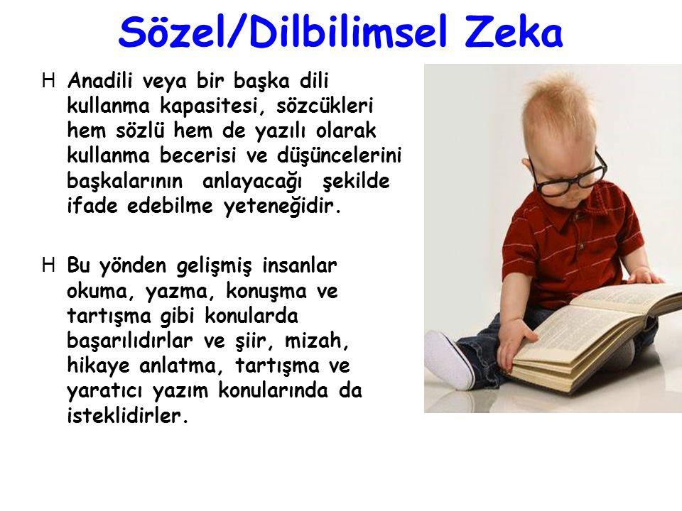 Sözel/Dilbilimsel Zeka