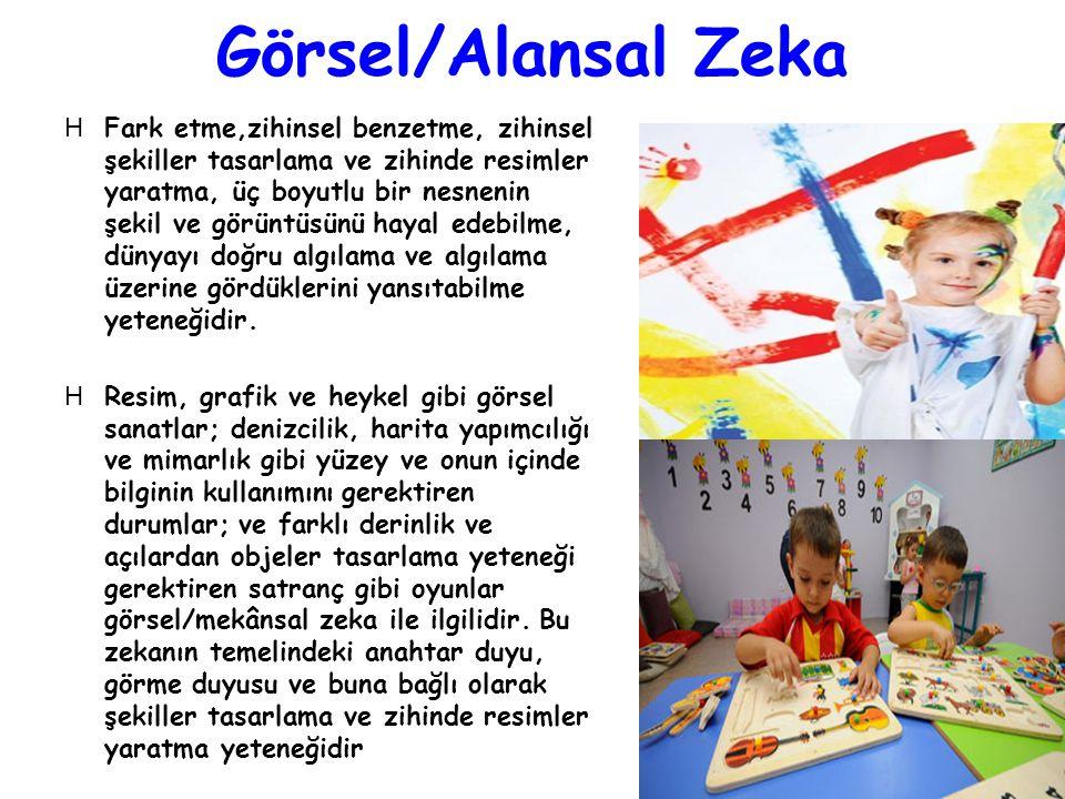 Görsel/Alansal Zeka
