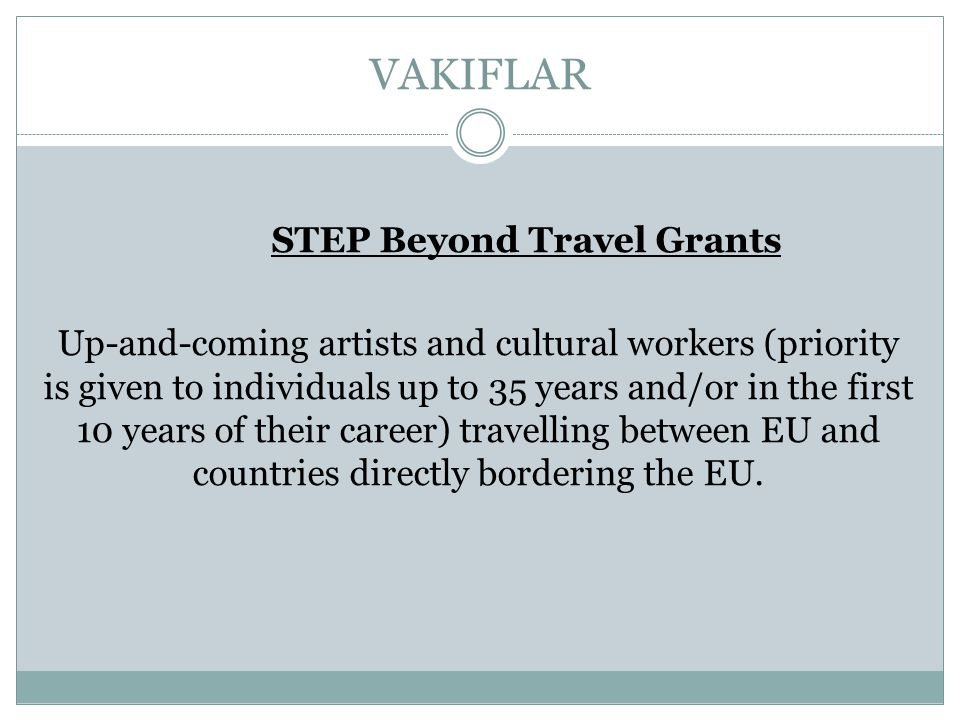 STEP Beyond Travel Grants