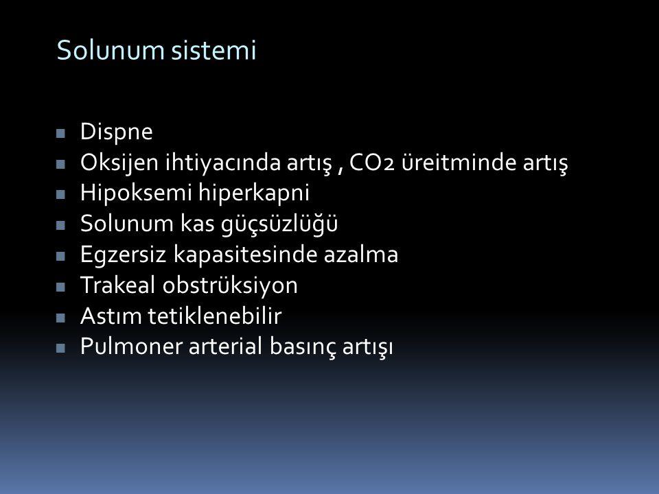 Solunum sistemi Dispne