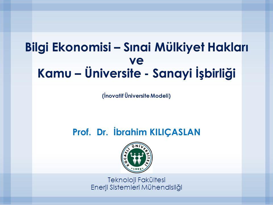 Prof. Dr. İbrahim KILIÇASLAN