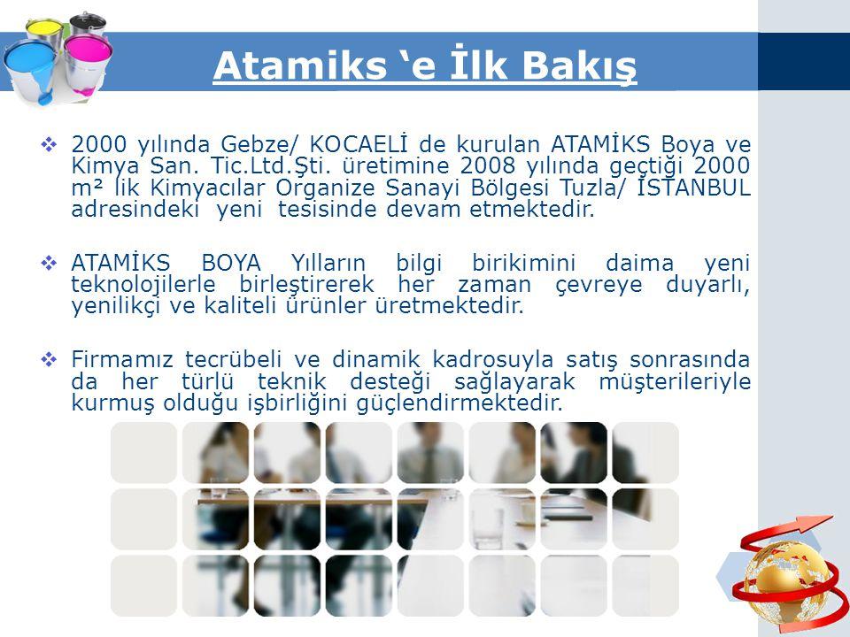 Atamiks 'e İlk Bakış