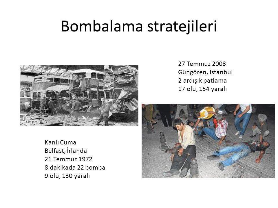Bombalama stratejileri