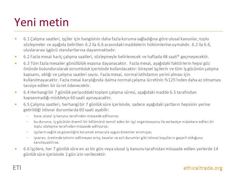 Yeni metin ETI ethicaltrade.org