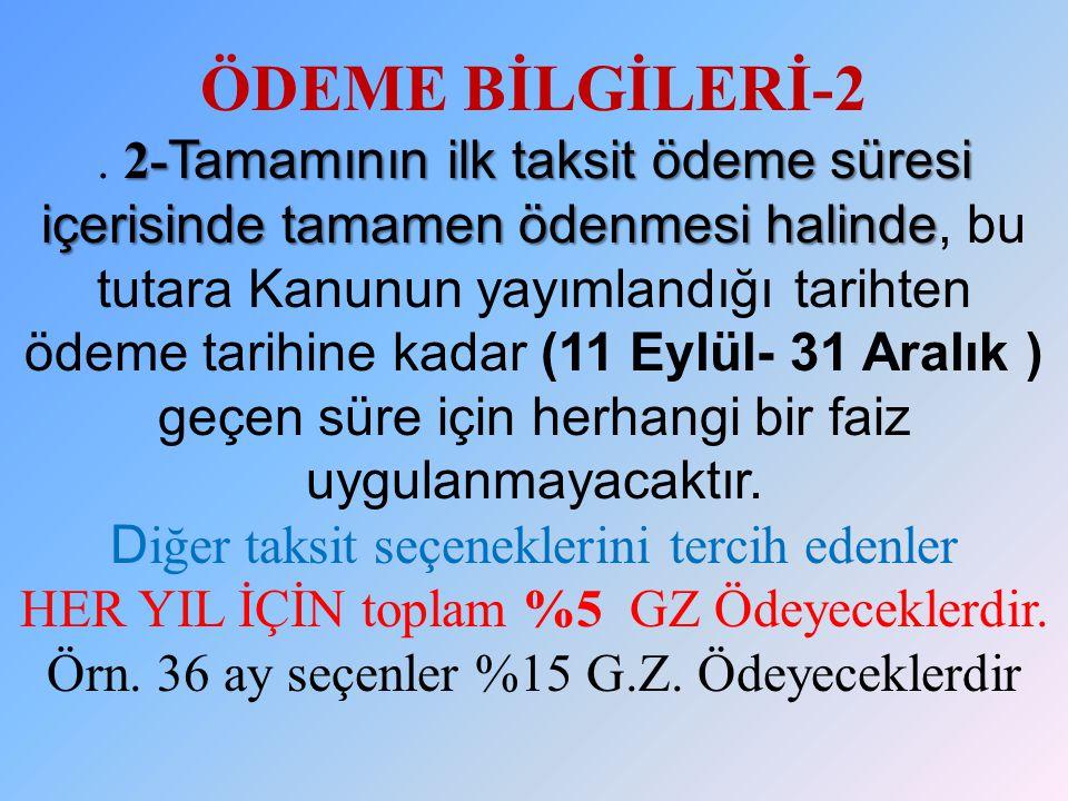 ÖDEME BİLGİLERİ-2 .