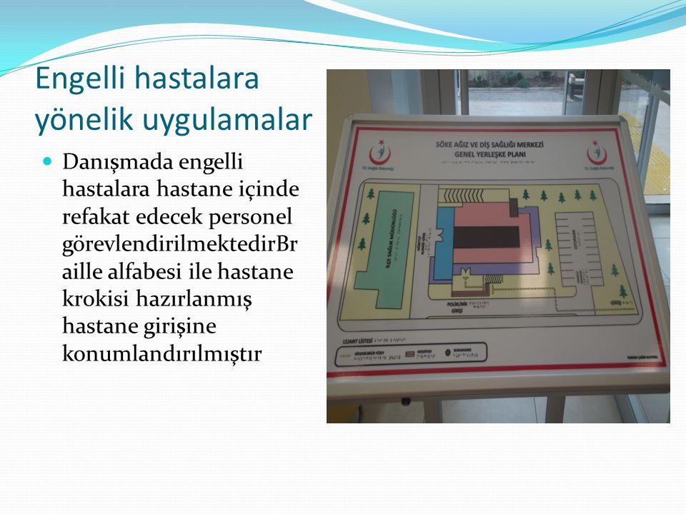 Engelli hastalara yönelik uygulamalar